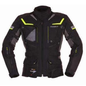 kurtka-motocyklowa-modeka-panamericana-czarno-neonowa-odzież-motocyklowa-warszawa-monsterbike-pl