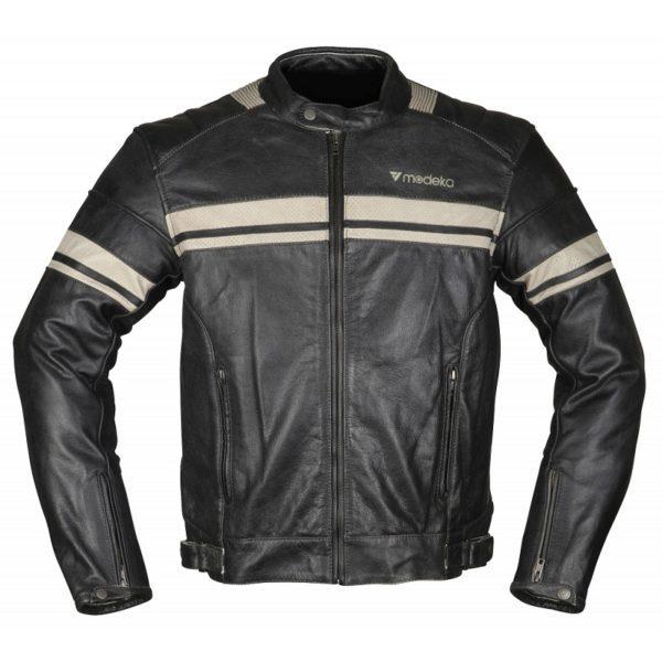 kurtka-motocyklowa-modeka-august-70-czarno-beżowa-monsterbike-pl
