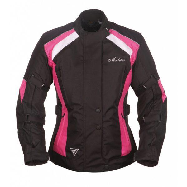 kurtka-motocyklowa-modeka-janika-lady-czarno-różowy-monsterbike-pl
