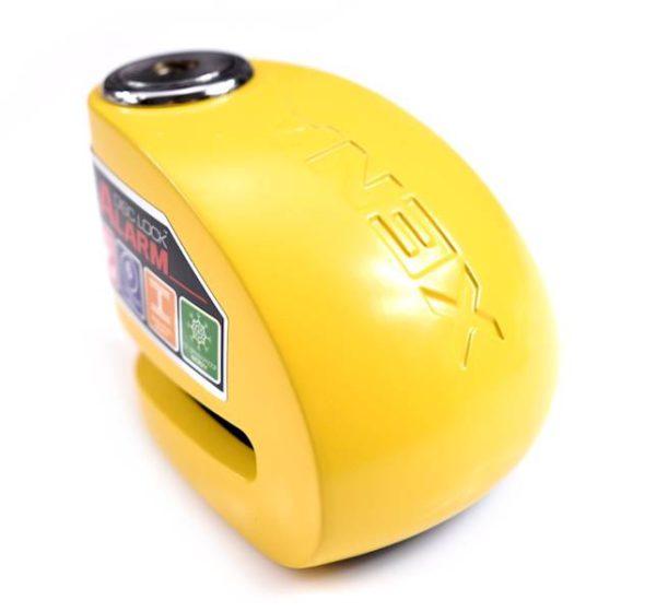 blokada-na-tarczę-xena-z-alarmem-xx6-żółta-bolec-6-mm-monsterbike-pl