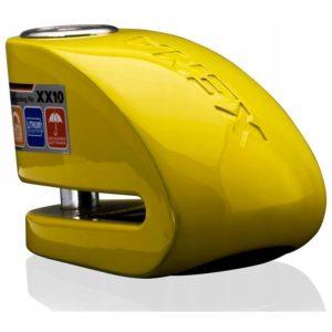 blokada-na-tarczę-z-alarmem-xena-xz14-żółta-bolec-14-mm-monsterbike-pl -