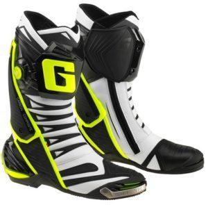 buty-motocyklowe-gaerne-gp-1-evo-białe-czarne-żółte-monsterbike-pl