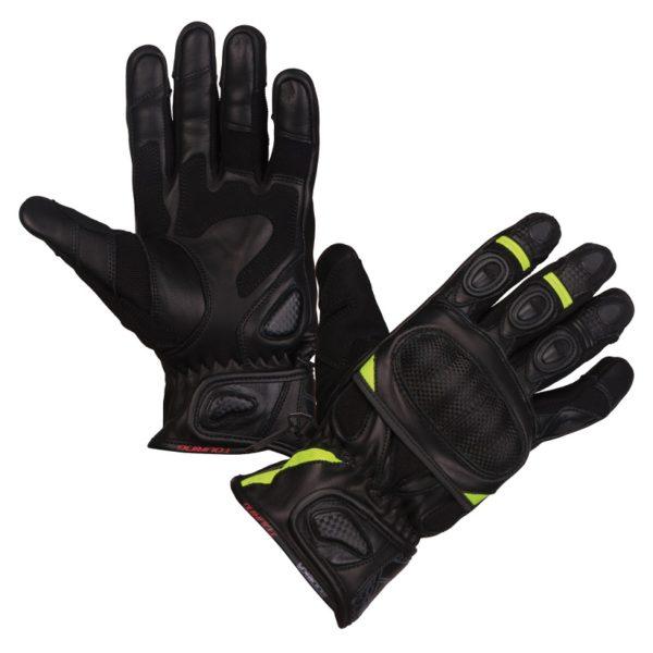 rękawice-motocyklowe-modeka-sahara-short-czarno-neonowe-sklep-motocyklowy-monsterbike.pl