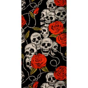 komin-uniwersalny-modeka-skulls-roses-monsterbike-pl