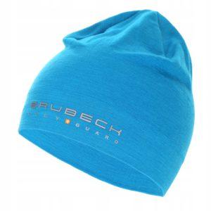 czapka-wełniana-dwuwarstwowa-brubeck-blękitna-monsterbike-pl