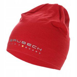 czapka-wełniana-dwuwarstwowa-brubeck-burgund-monsterbike-pl