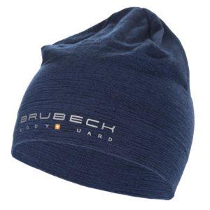 czapka-wełniana-dwuwarstwowa-brubeck-granatowa-monsterbike-pl