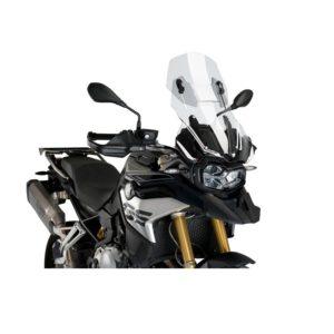 szyba-turystyczna-puig-do-bmw-f850gs-adv-18-20-przezroczysta-ze-spoilerem-monsterbike-pl