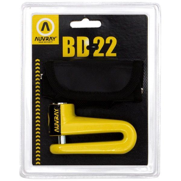 blokada-na-tarczę-AUVRAY-BD22-żółta-średnica-bolca-10mm-monsterbike