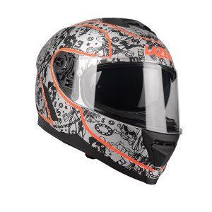 kask-motocyklowy-lazer-rafale-s13-orginal-srebrny-pomarańczowy-fluo-czarny-matowy-monsterbike-pl