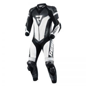 kombinezon-motocyklowy-skórzany-rebelhorn-rebel-biały-czarny-monsterbike-pl