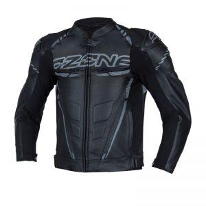 kurtka-motocyklowa-ozone-rs600-short-Black-Grey-sklep-motocyklowy-warszawa-MonsterBike.pl