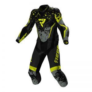 kurtka-motocyklowa-rebelhorn-rebel-czarno-szara-fluo-żółta-monsterbike-pl