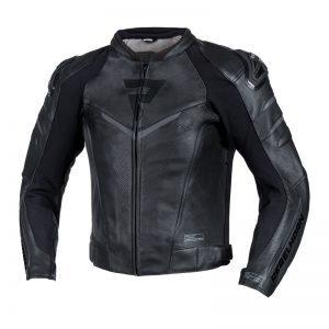 kurtka-motocyklowa-skórzana-rebelhorn-fighter-czarna-monsterbike-pl