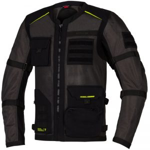kurtka-motocyklowa-tekstylna-rebelhorn-brutale-ciemnoszara-czarna-fluo-żółta-monsterbike-pl
