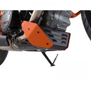 osłona-silnika-sw-motech-ktm-1290-super-duke-r-gt-pomarańczowa-czarna-monsterbike-pl