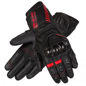 rękawice-motocyklowe-ozone-rs600-Black-Flo-Red-sklep-motocyklowy-warszawa-MonsterBike.pl