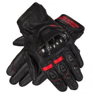 rękawice-motocyklowe-ozone-rs600-short-Black-Flo-Red-sklep-motocyklowy-warszawa-MonsterBike.pl