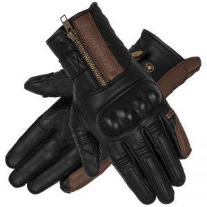 rękawice-motocyklowe-rebelhorn-hunter-vintage-brązowe-monsterbike-pl