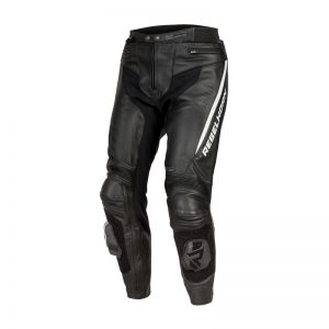 spodnie-motocyklowe-skórzane-rebelhorn-fighter-czarne-białe-monsterbike-pl