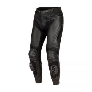 spodnie-motocyklowe-skórzane-rebelhorn-fighter-czarne-monsterbike-pl