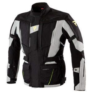kurtka-motocyklowa-tekstylna-rebelhorn-hardy-ii-szara-czarna-fluo-żółta-odzież-motocyklowa-warszawa-monsterbike-pl