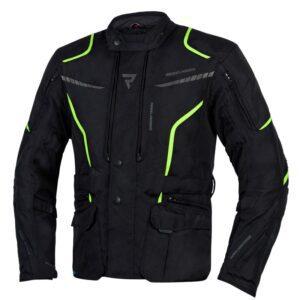 kurtka-motocyklowa-tekstylna-rebelhorn-hiker-iii-czarna-fluo-żółta-odzież-motocyklowa-warszawa-monsterbike-pl