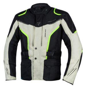 kurtka-motocyklowa-tekstylna-rebelhorn-hiker-iii-czarna-szara-fluo-żółta-odzież-motocyklowa-warszawa-monsterbike-pl