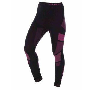 spodnie-termoaktywne-brubeck-dry-damskie-czarne-amarantowe-odzież-motocyklowa-warszawa-monsterbike-pl