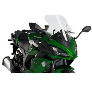 szyba-sportowa-puig-do-kawasaki-z1000-sx-11-19-ninja-1000sx-20-przezroczysta-akcesoria-motocyklowe-warszawa-monsterbike.pl
