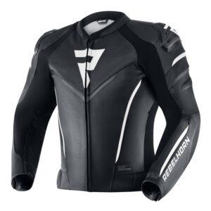 kurtka-motocyklowa-skórzana-rebelhorn-fighter-czarna-biała-odzież-motocyklowa-warszawa-monsterbike-pl