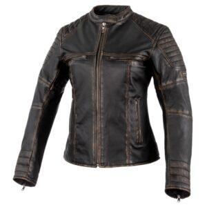 kurtka-motocyklowa-skórzana-rebelhorn-hunter-pro-lady-vintage-czarna-odzież-motocyklowa-warszawa-monsterbike-pl