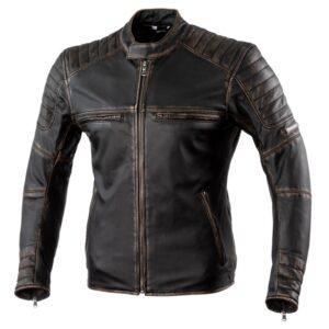 kurtka-motocyklowa-skórzana-rebelhorn-hunter-pro-vintage-czarna-odzież-motocyklowa-warszawa-monsterbike-pl