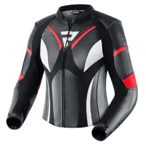 kurtka-motocyklowa-skórzana-rebelhorn-rebel-lady-czarna-fluo-czerwona-biała-odzież-motocyklowa-warszawa-monsterbike-pl