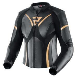 kurtka-motocyklowa-skórzana-rebelhorn-rebel-lady-czarna-złota-odzież-motocyklowa-warszawa-monsterbike-pl