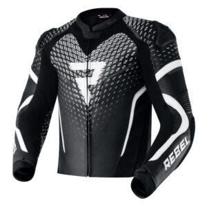 kurtka-motocyklowa-skórzana-rebelhorn-rebel-stay-creative-czarna-biała-odzież-motocyklowa-warszawa-monsterbike-pl