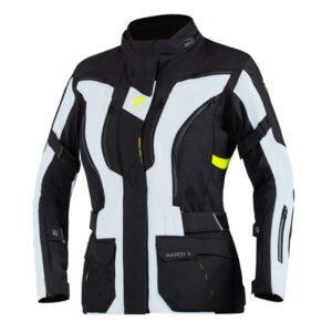 kurtka-motocyklowa-tekstylna-rebelhorn-hardy-ii-lady-szara-czarna-fluo-żółta-odzież-motocyklowa-warszawa-monsterbike-pl