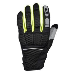 rękawice-motocyklowe-ixs-samur-air-1-0-czarne-żółte-srebrne-odzież-motocyklowa-warszawa-monsterbike-pl