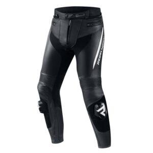 spodnie-motocyklowe-rebelhorn-fighter-czarne-białe-odzież-motocyklowa-warszawa-monsterbike-pl