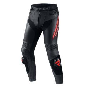 spodnie-motocyklowe-rebelhorn-fighter-czarne-fluo-czerwone-odzież-motocyklowa-warszawa-monsterbike-pl