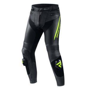 spodnie-motocyklowe-rebelhorn-fighter-czarne-fluo-żółte-odzież-motocyklowa-warszawa-monsterbike-pl