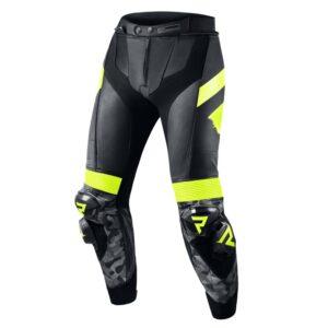 spodnie-motocyklowe-rebelhorn-rebel-czarne-fluo-żółte-odzież-motocyklowa-warszawa-monsterbike-pl