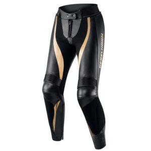 spodnie-motocyklowe-rebelhorn-rebel-lady-czarne-złote-odzież-motocyklowa-warszawa-monsterbike-pl