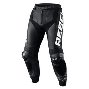 spodnie-motocyklowe-rebelhorn-rebel-stay-creative-czarne-białe-odzież-motocyklowa-warszawa-monsterbike-pl