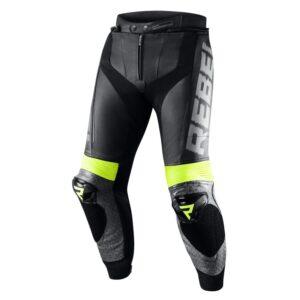 spodnie-motocyklowe-rebelhorn-rebel-stay-creative-czarne-szare-fluo-żółte-odzież-motocyklowa-warszawa-monsterbike-pl