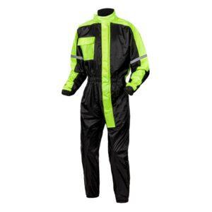 kombinezon-przeciwdeszczowy-jednocześciowy-ozone-oz-141-czarny-fluo-żółty-odzież-motocyklowa-warszawa-monsterbike-pl