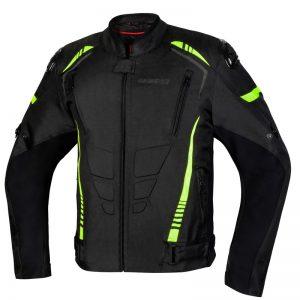 kurtka-motocyklowa-ozone-pulse-czarna-fluo-żółta-odzież-motocyklowa-warszawa-monsterbike-pl