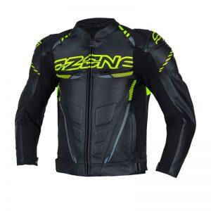 kurtka-motocyklowa-ozone-rs600-czarna-fluo-żółta-odzież-motocyklowa-warszawa-monsterbike-pl