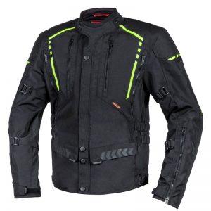 kurtka-motocyklowa-ozone-tour-ii-czarna-fluo-żółta-odzież-motocyklowa-warszawa-monsterbike-pl