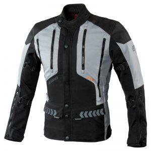 kurtka-motocyklowa-ozone-tour-ii-czarna-szara-odzież-motocyklowa-warszawa-monsterbike-pl